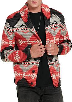 Denim & Supply Ralph Lauren Southwestern Cotton Cardigan