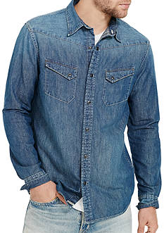 Denim & Supply Ralph Lauren Denim Western Sport Shirt