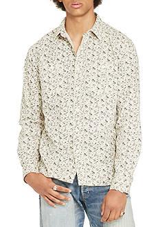 Denim & Supply Ralph Lauren Floral-Print Cotton Workshirt