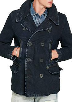 Denim & Supply Ralph Lauren Denim Peacoat Jacket