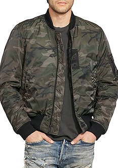 Denim & Supply Ralph Lauren Slim Camo Down Bomber Jacket