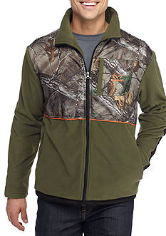 Realtree Long Sleeve Polar Fleece Jacket