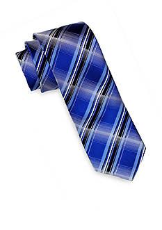 Andrew Fezza Blue Plaid Tie