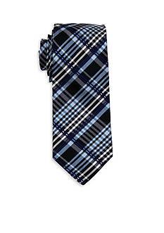 Andrew Fezza Men's Diagonal Plaid Tie