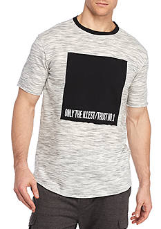 FIVE.BY.FIVE By Master Piece Short Sleeve Illest Crew Neck Tee