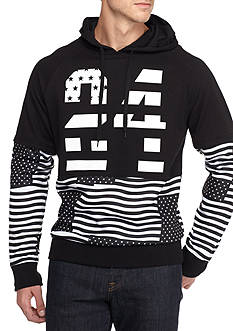 FIVE.BY.FIVE By Master Piece Long Sleeve 24 Flag Hoodie