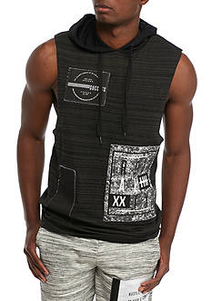FIVE.BY.FIVE By Master Piece Sleeveless Royalty Hoodie