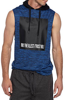 FIVE.BY.FIVE By Master Piece Sleeveless Illest Marl Hoodie