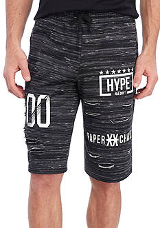 FIVE.BY.FIVE By Master Piece Hype French Terry Shorts