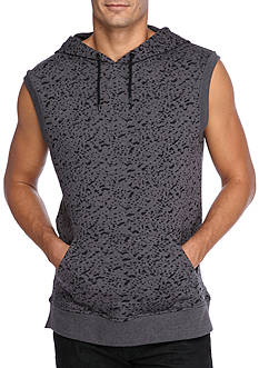 FIVE.BY.FIVE By Master Piece Sleeveless Burnout Hoodie