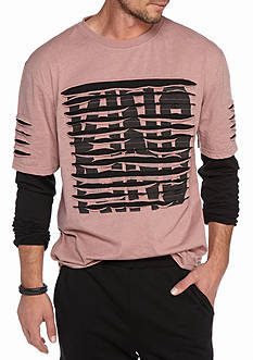 Masterpiece Long Sleeve XX Hustle Layer Crew Neck Tee