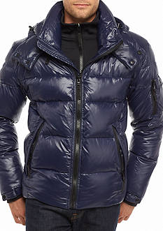 S13 Quilted Hooded Down Jacket