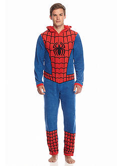 Briefly Stated Men's Union Spider-Man Suit with Hood