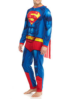 Briefly Stated Superman Adult Union Suit