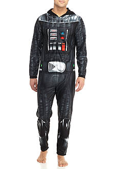 Briefly Stated Darth Vader Hooded Union Suit