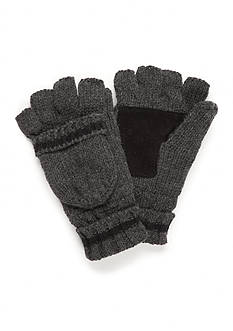 SB Tech® Fingerless Ragwool Flip Top Gloves