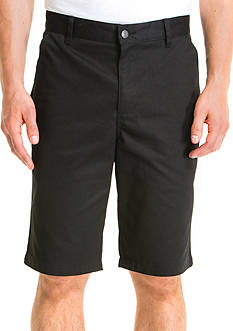 Lee® Uniforms Classic-Fit Flat-Front Shorts