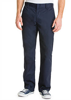 Lee® Uniforms Slim Fit Straight Leg Pants