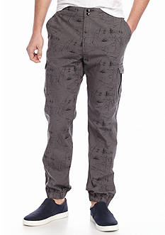 Chip & Pepper® CALIFORNIA Printed Woven Cargo Jogger Pants