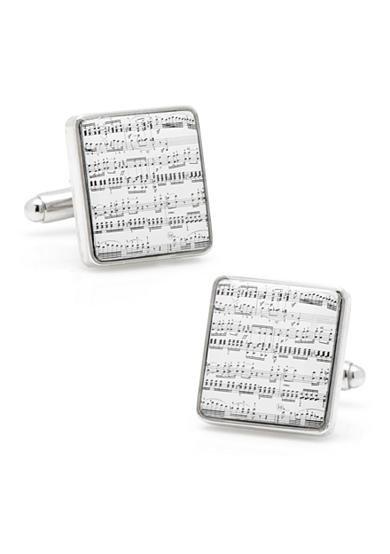 Cufflinks Inc Classical Sheet Music Cufflinks