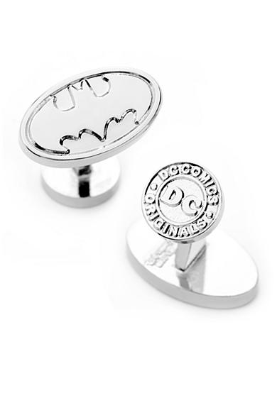 Cufflinks Inc Silver Batman Logo Cufflinks