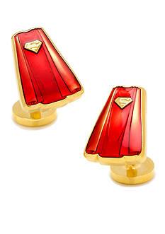 Cufflinks Inc Transparent Enamel Superman Cape Cufflinks