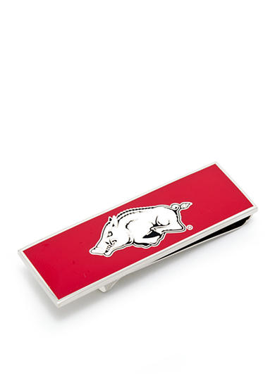 Cufflinks Inc Arkansas Razorbacks Money Clip