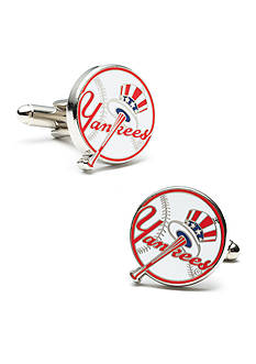 Cufflinks Inc Yankees Baseball Cufflinks