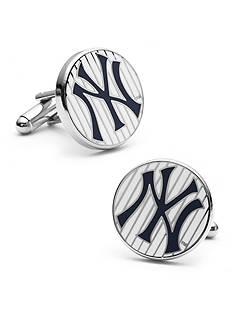 Cufflinks Inc New York Yankees Pinstripe Cufflinks