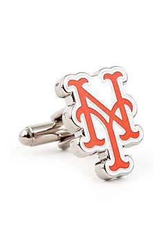 Cufflinks Inc Silver New York Mets Cufflinks