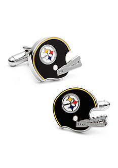 Cufflinks Inc Retro Pittsburgh Steelers Helmet Cufflinks