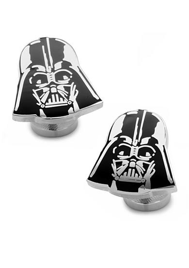 Cufflinks Inc Recessed Matte Darth Vader Head Cufflinks
