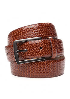 Tommy Bahama® Allover Embossed Leather Belt