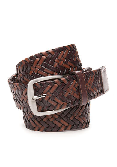 Tommy Bahama® Tubular Braid Leather Belt