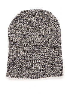 Red Camel® Marled Stripe Knit Beanie Hat