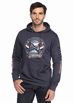 American Outdoorsman® Long Sleeve 'Rugged' Graphic Hoodie