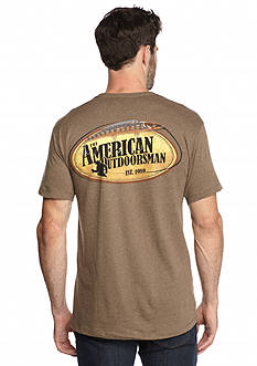 American Outdoorsman® Short Sleeve 'Lure' Graphic Tee