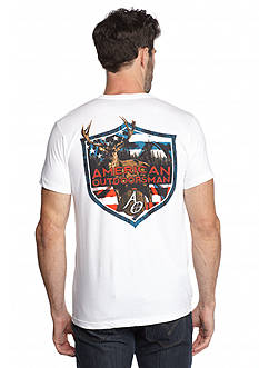 American Outdoorsman® Short Sleeve 'Stag' Graphic Tee
