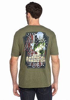 American Outdoorsman® Short Sleeve 'Hooked' Graphic Tee