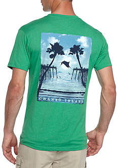 Ocean & Coast® Short Sleeve Craneo Island Graphic Tee