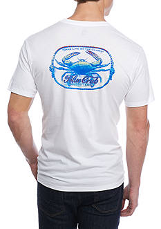 Ocean & Coast Short Sleeve 'Live Life By The Claws' Graphic Tee