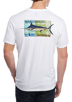 Ocean & Coast Short Sleeve Fish And Reel Graphic Tee