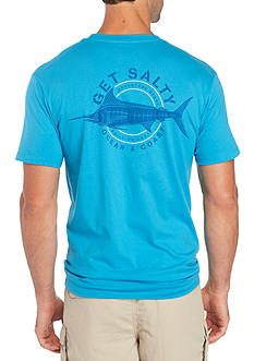 Ocean & Coast Short Sleeve Get Salty Graphic Tee