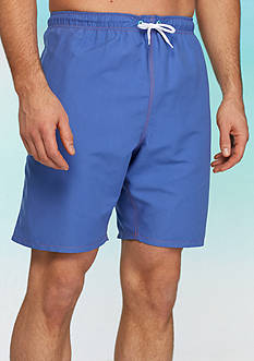 Saddlebred® Big & Tall Solid Swim Trunks