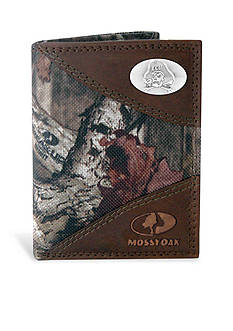 ZEP-PRO Mossy Oak ECU Pirates Tri-fold Wallet