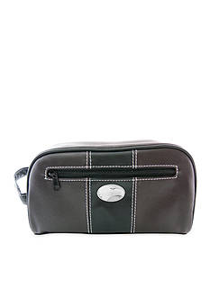 ZEP-PRO Mossy Oak Georgia Southern Eagles Brown Toiletry Shave Kit