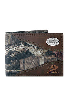 ZEP-PRO Mossy Oak Georgia Tech Yellow Jackets Passcase Wallet