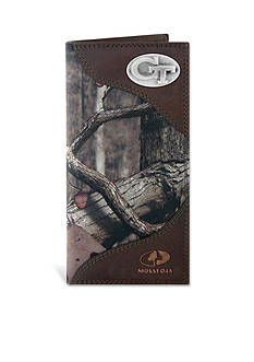 ZEP-PRO Mossy Oak Georgia Tech Yellow Jackets Secretary Wallet