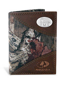 ZEP-PRO Mossy Oak Memphis Tigers Tri-fold Wallet