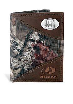 ZEP-PRO Mossy Oak NC State Wolfpack Tri-fold Wallet